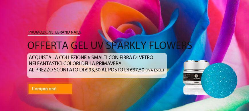 Promo Collezione Gel Sparkly Flowers