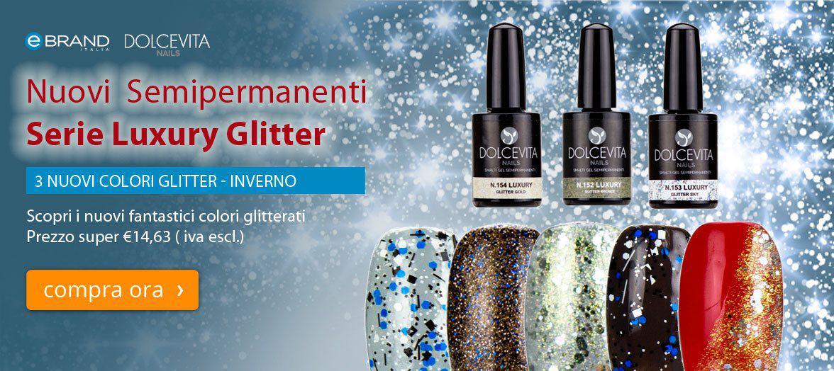 Smalti Semipermanenti Serie Luxury Dolcevita