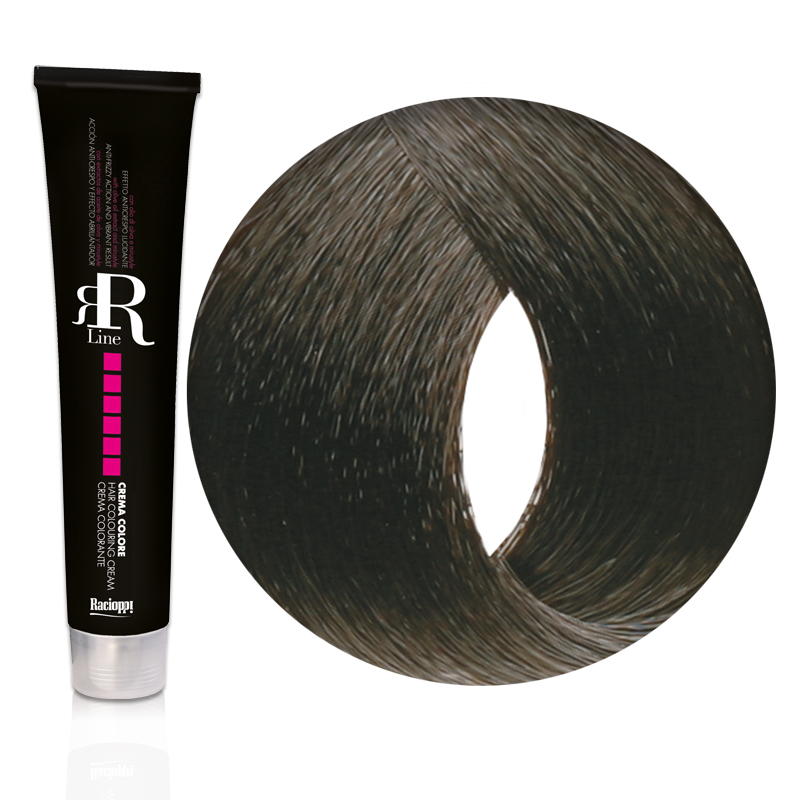 Tinta Capelli Castano Scuro 3.0 Professionale, RR Real Star