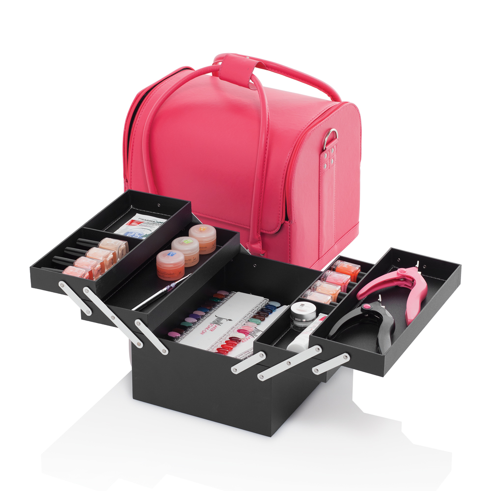 Borsa Bauletto Make Up Mia, Rosa
