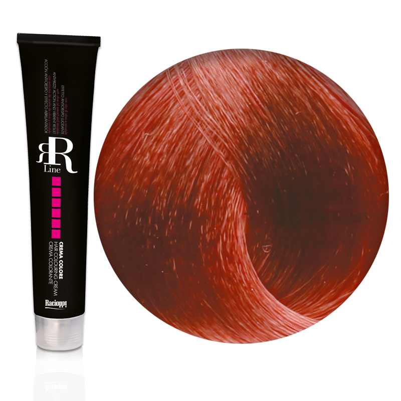 Tinta Capelli Biondo Rame Intenso 7.44 Professionale, RR Real Star
