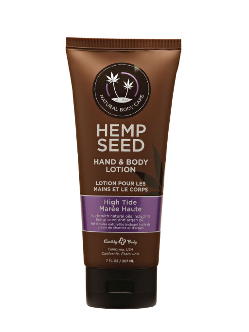 Hemp Seed, Lozione Idratante Corpo e Mani, Fragranza High Tide, 207 ml
