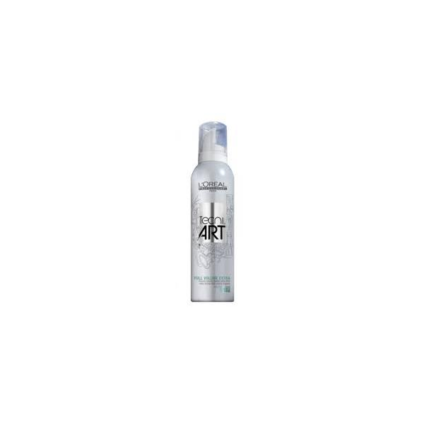 Mousse Fissante Extra Forte Per Capelli Voluminosi, Tecni Art L'Oreal Full Volume Extra 250 ml