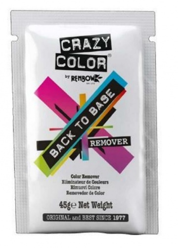 Remover Back to Base Crazy Color 45 gr