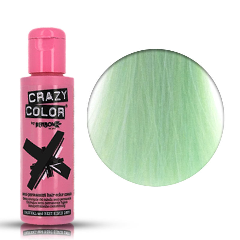 Tinta Semipermanente Menta Crazy Color, 71 Peppermint