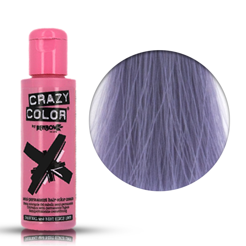 Tinta Semipermanente Violetto Crazy Color, 74 Slate