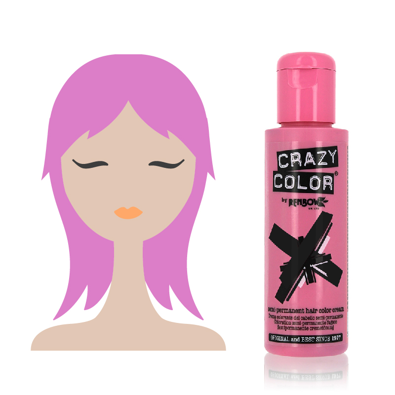 Tinta Semipermanente Crazy Color, 64 Marshmallow