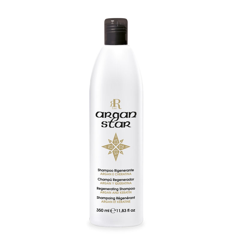 Shampoo Rigenerante Argan Star, 350 ml, RR Real Star
