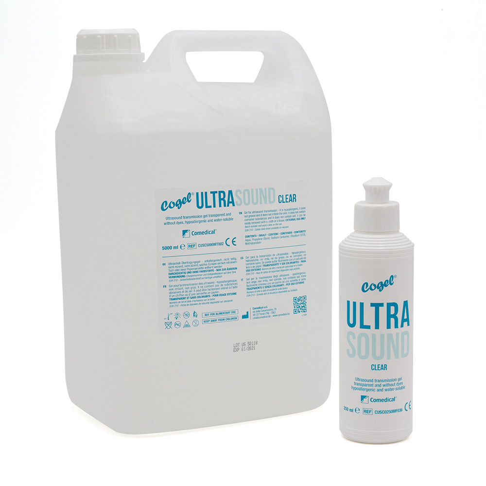 Gel Ultrasuoni Conduttivo Cogel Ultrasound in Tanica, 5000 ml
