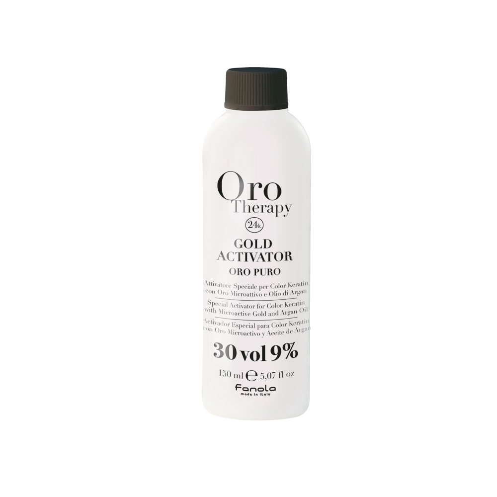 Acqua Ossigenata Gold Activator 30 Vol., 9 % Oro Puro, 150 ml