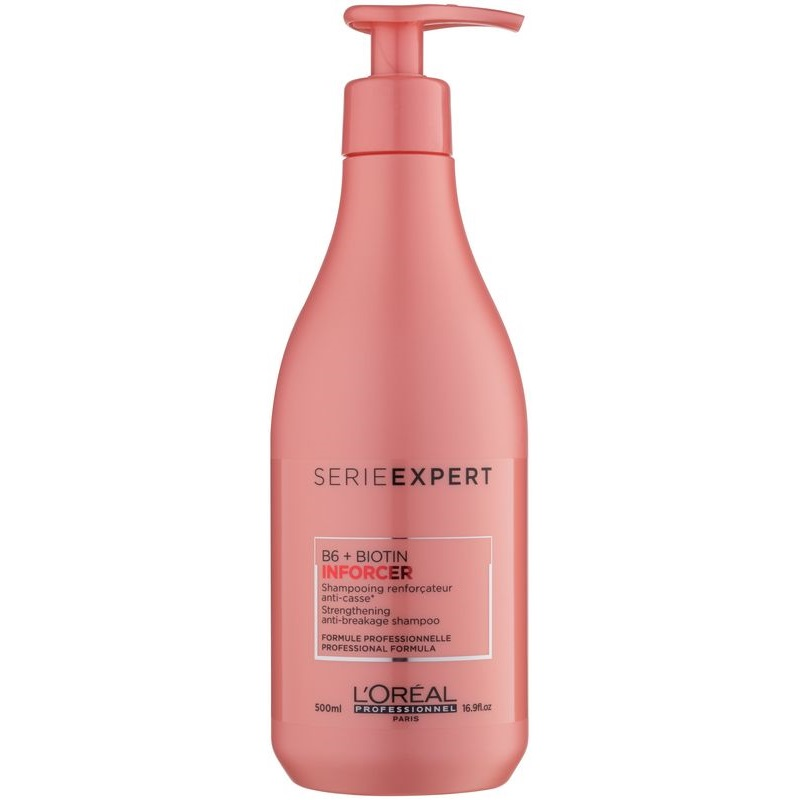 Shampoo Inforcer, L'Oreal, 500 ml