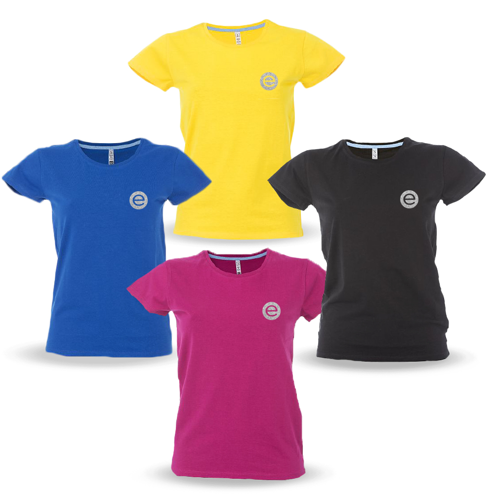 T-Shirt Donna in Cotone 100%, Ebrand