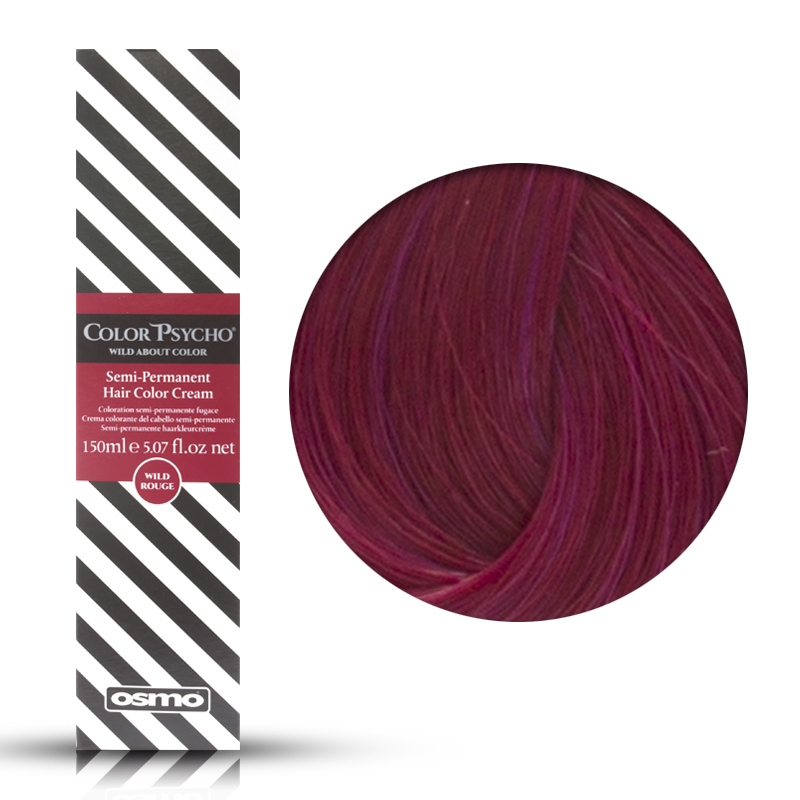 Osmo Color Psycho Wild Cerise, Colorazione Semi Permanente In Crema Ciliegia, 150 ml