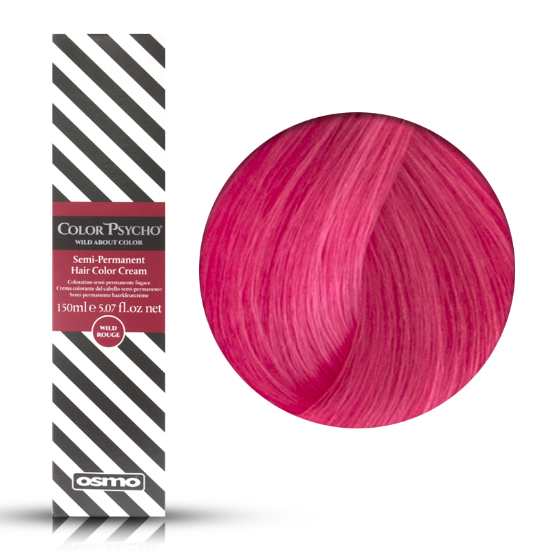 Osmo Color Psycho Wild Pink, Colorazione Semi Permanente In Crema Rosa, 150 ml