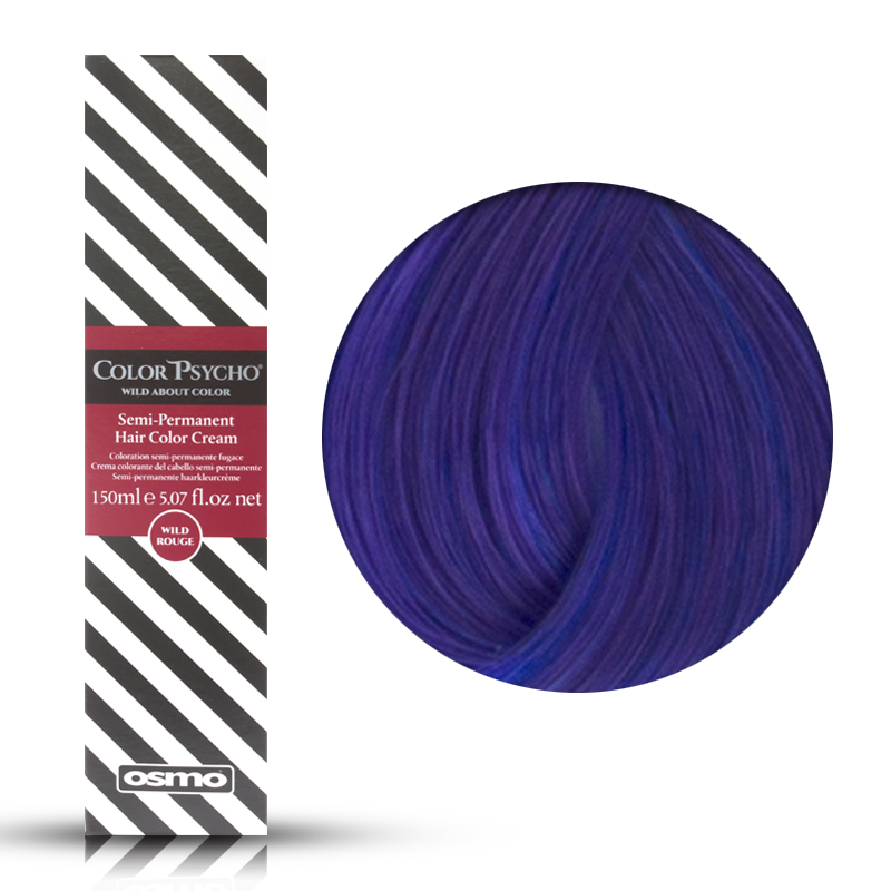 Osmo Color Psycho Wild Violet, Colorazione Semi Permanente In Crema Viola, 150 ml