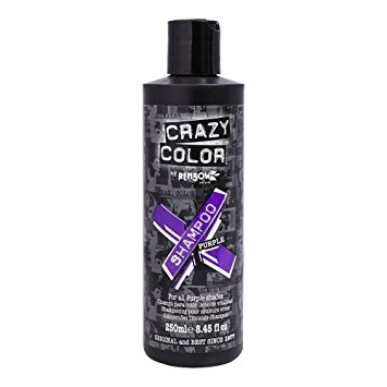 Vibrant Color Shampoo Purple, 250 ml, Crazy Color