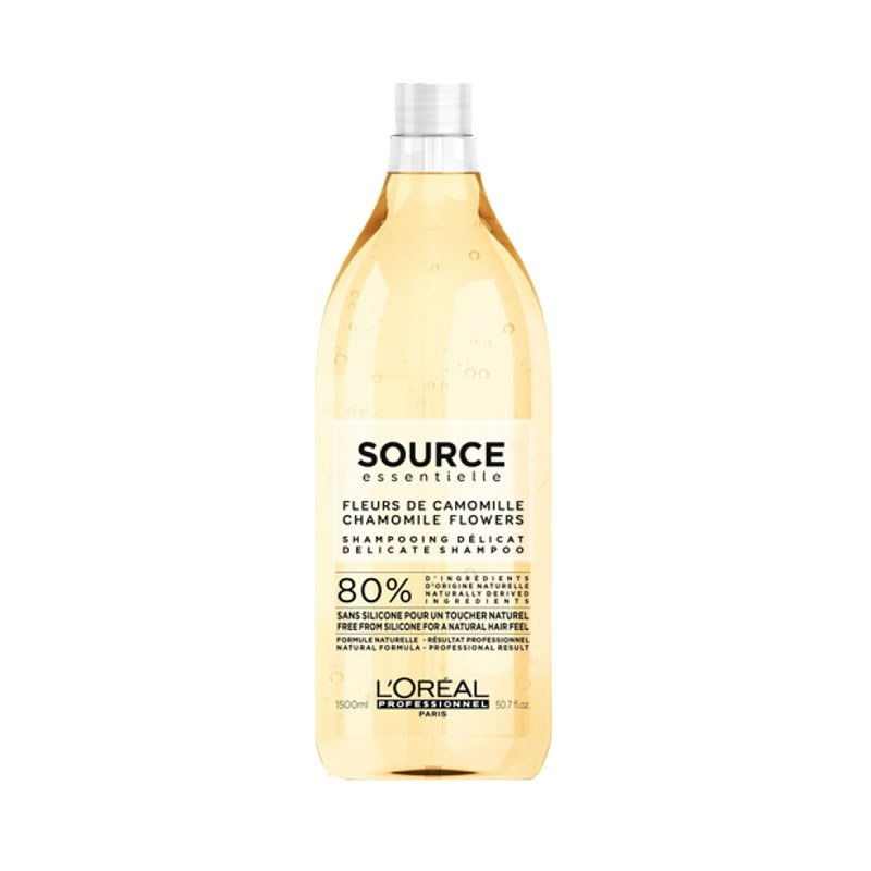 Delicate Shampoo Source, L'Oreal, 1500 ml