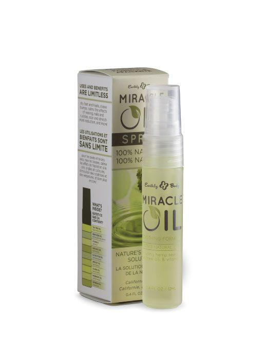 Miracle Oil Spray, Miscela di Oli Naturali Puri, 12 ml