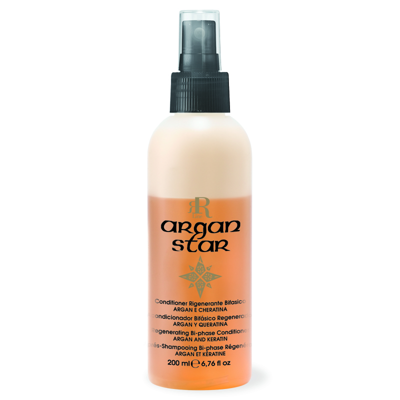 Conditioner Rigenerante Bifasico Argan Star, 200 ml, RR Real Star