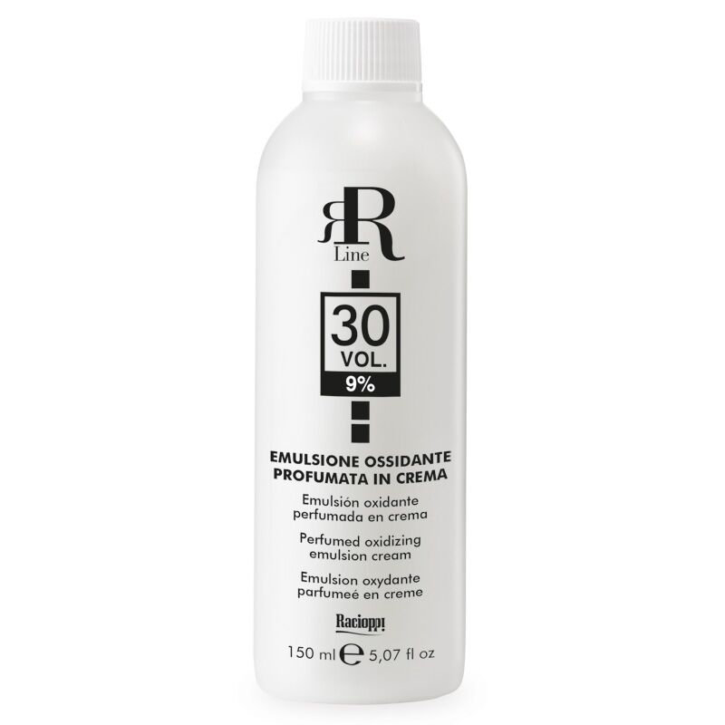 Emulsione Ossidante Profumata in Crema 30 Vol. 9%, RR Real Star, 150 ml