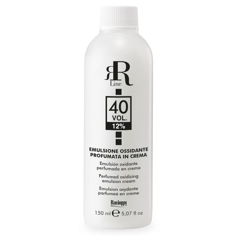 Emulsione Ossidante Profumata in Crema 40 Vol. 12%, RR Real Star, 150 ml