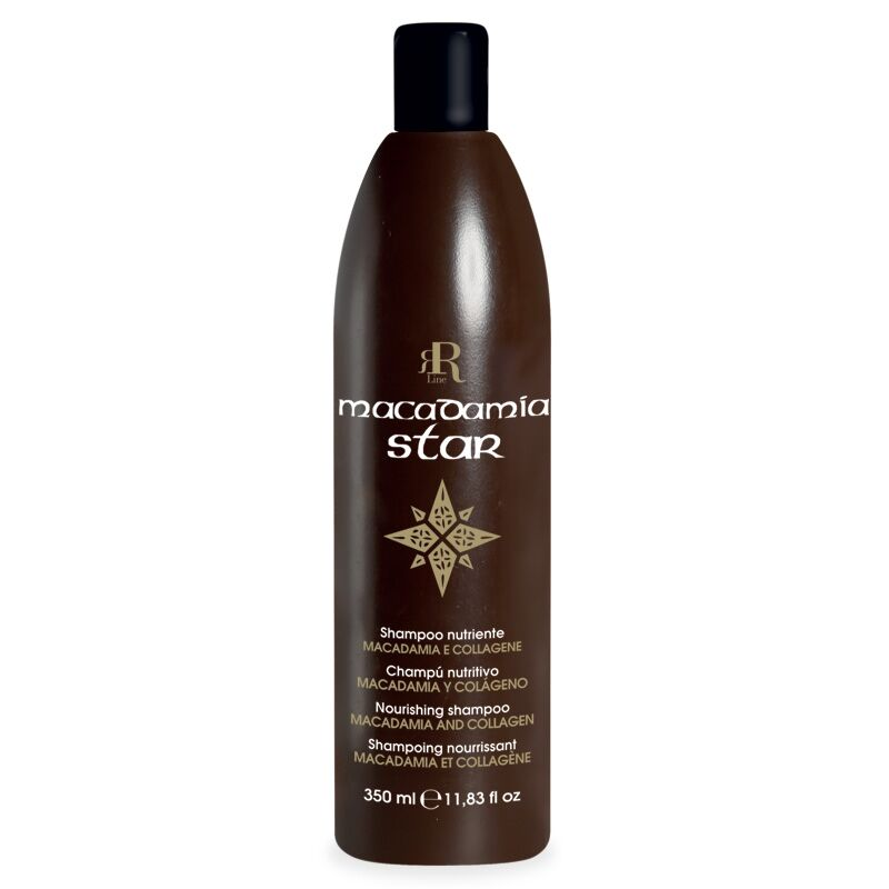 Shampoo Nutriente Macadamia Star, 350 ml, RR Real Star