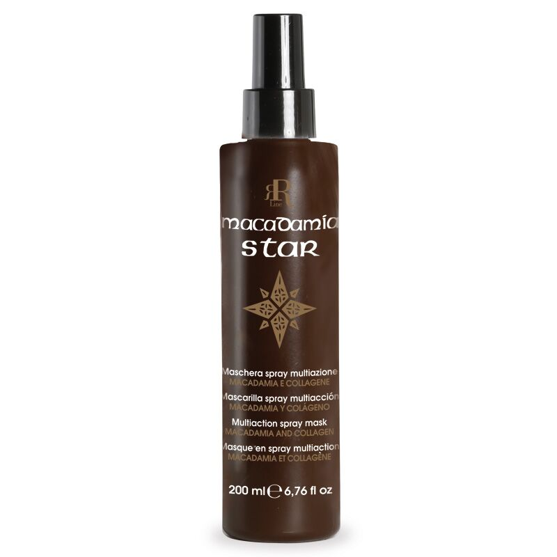 Maschera Spray Multiaz. Macadamia Star, 200 ml, RR Real Star
