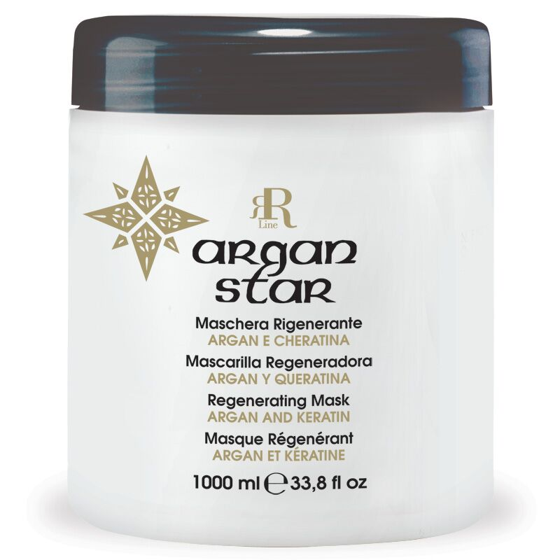 Maschera Rigenerante Argan Star, 1000 ml, RR Real Star